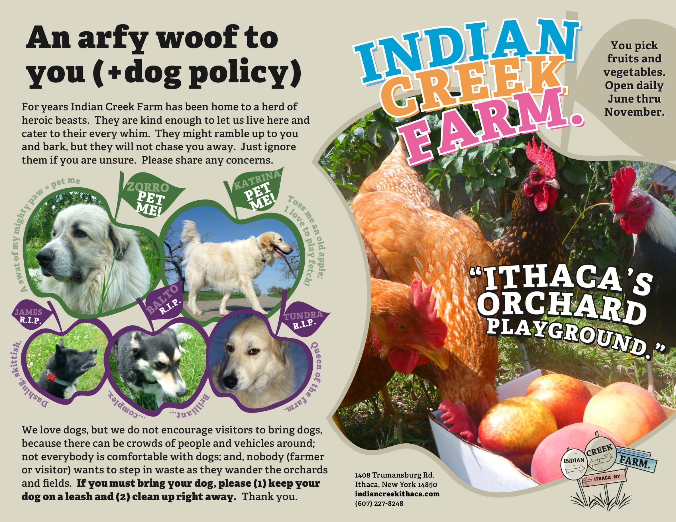 Visit Indian Creek Farm, for the Fruits Would Like Some